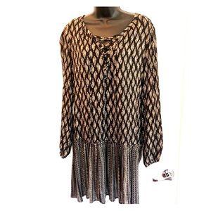 Knot Sisters Boho Style Dress - Sz M